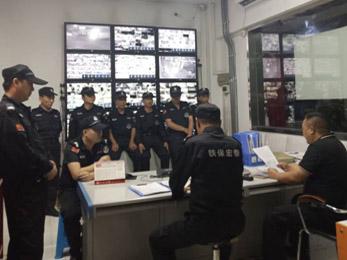 驻港之龙实业安保消防检查应急测试工作