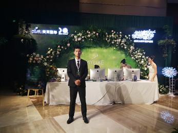 深圳美莱美容20周年童梦庆典安保护卫