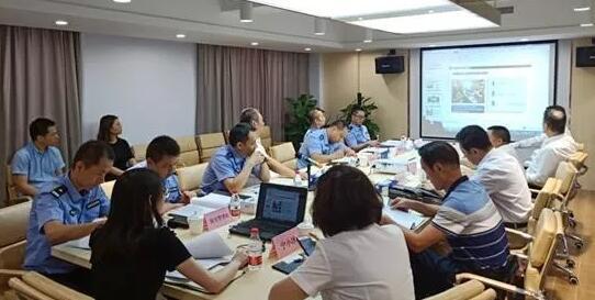 深圳市治安巡警支队莅临协会指导工作