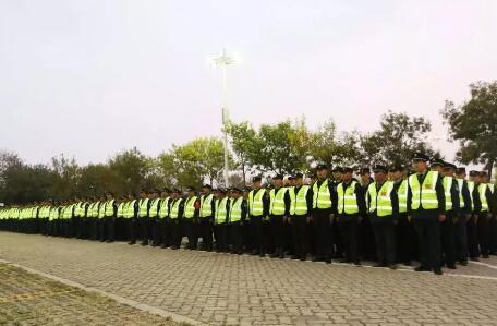 祝贺日照保安发展集团圆满完成建市30周年活动安保工作