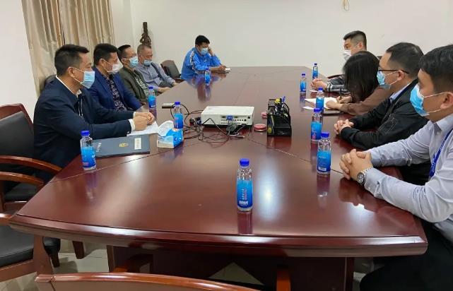 珠海市保安协会领导干部协会走访调研珠海保安公司