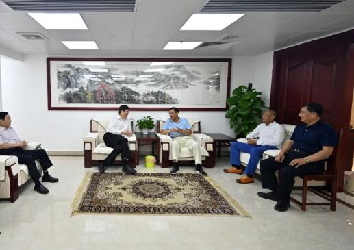 中保华安集团保安公司到广东省保安协会交流座谈
