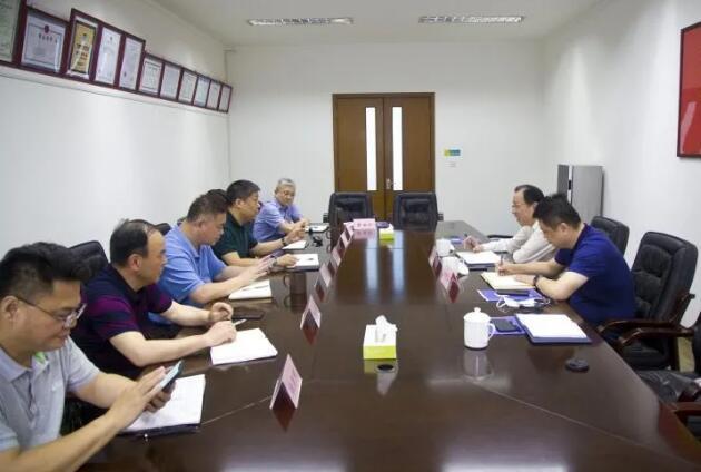 上海市保安服务行业协会走访调研上海市浦东新区保安服务公司
