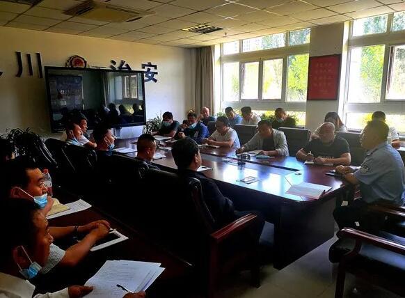银川市保安协会召开加强校园安保专题会议