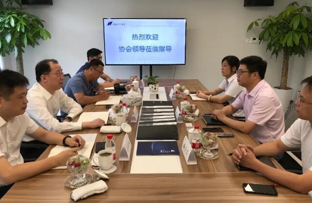 上海市保安服务行业协会走访调研保安公司