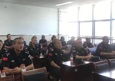 宁波保安公司开展校园保安培训