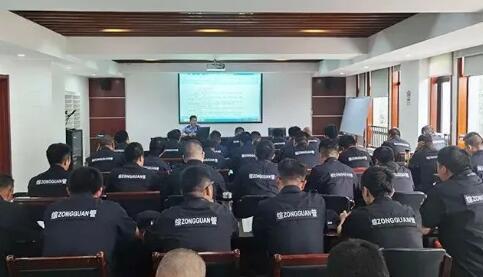 杭州安保集团驻点开展保安员专项业务培训