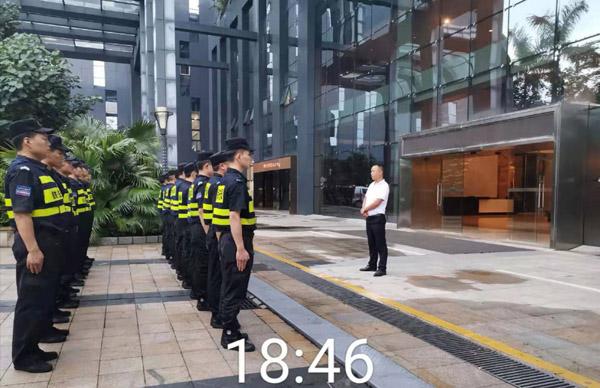 大厦安保护卫