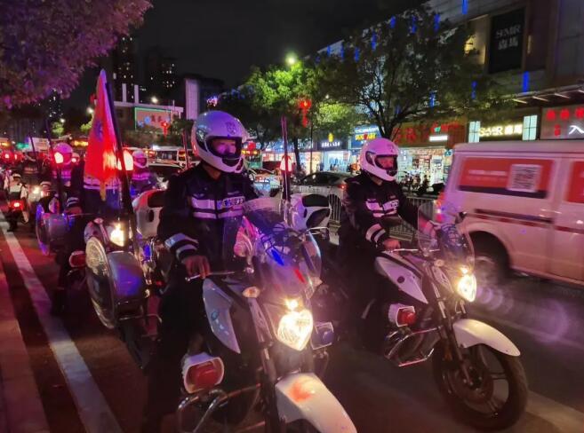 深圳宝安区保安公司配合开展义警叠加巡逻防控工作