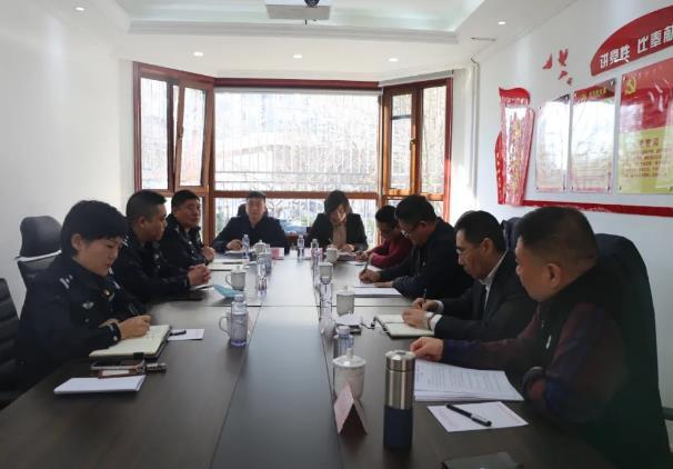 天津市治安管理领导到天津市保安协会指导检查工作
