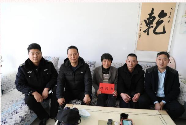 东营市保安公司开展春节走访慰问困难职工活动