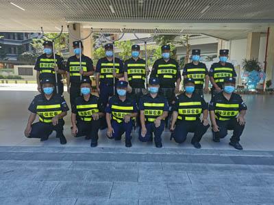 寮步镇香市第一小学安保护卫活动